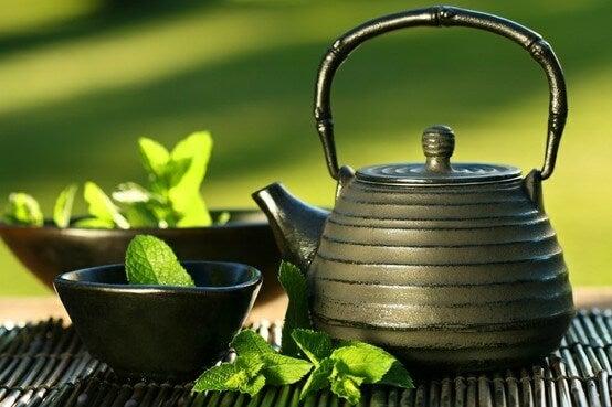 2 japanese tea
