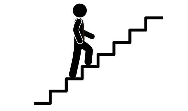 3 stair climb