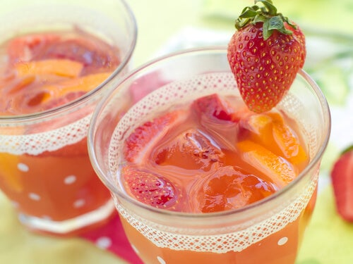 5 strawberry juice