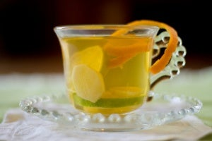 Benefits of drinking green tea with ginger and cinnamon