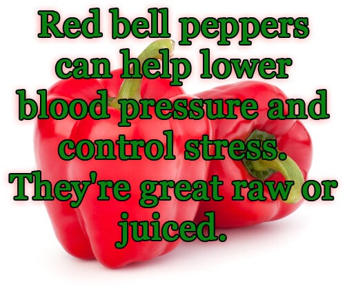 Red pepper with message about blood pressure.