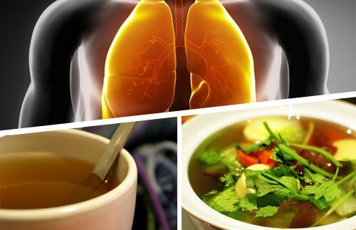 Infusions that are good for your lungs