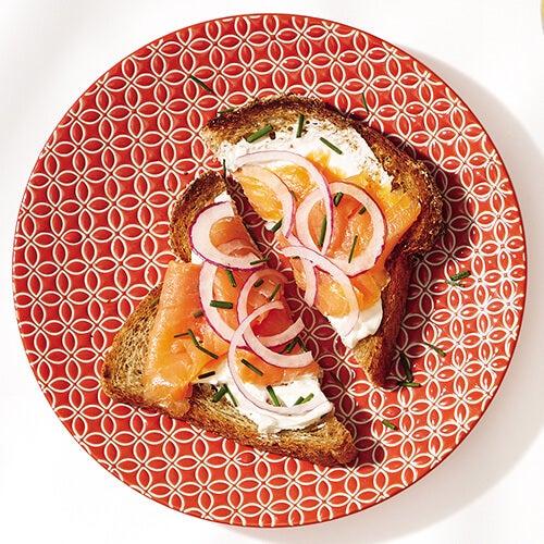 Salmon-toast