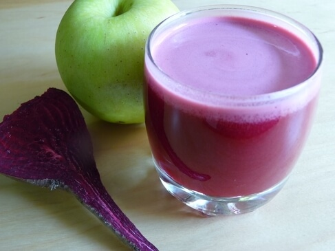 Beet, Apple, and Carrot Curative Juice