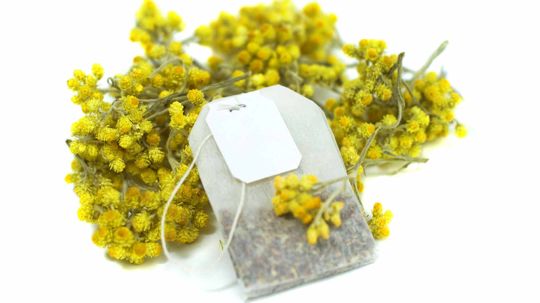 Chamomile tea bags for sagging eyelids