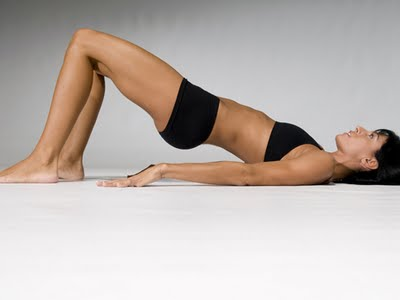 Pelvis lift exercise