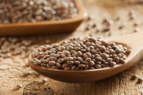 lentils contain irol