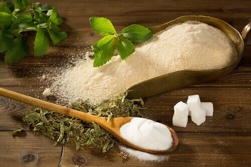 Indicators of liver problems sugar alternatives and sugar on the table