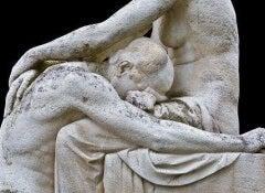 1 grief statue