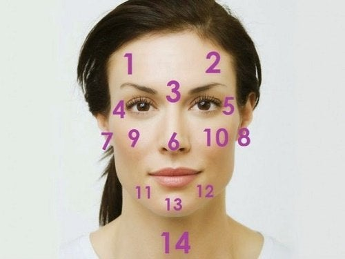 health problems reflected on your face