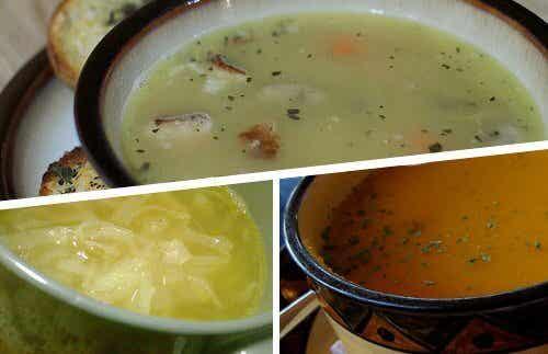 Four Soups that Prevent Colds