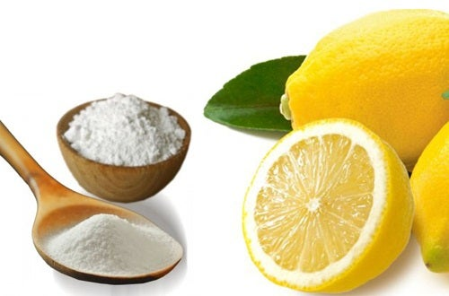 baking soda and lemons