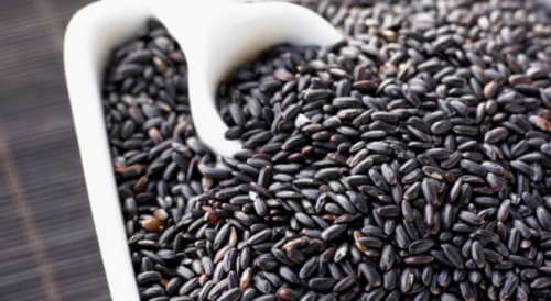 Black rice to reduce inflammation.