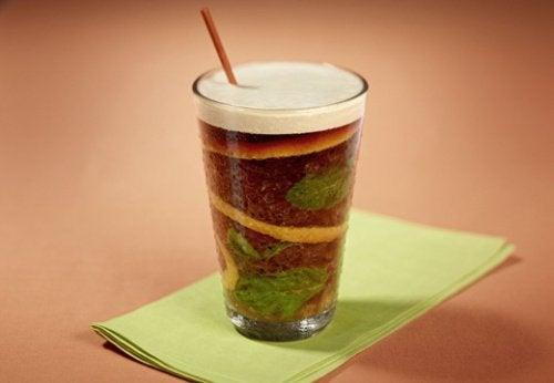 café de hortelã