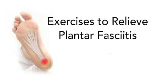 relieve plantar fasciitis