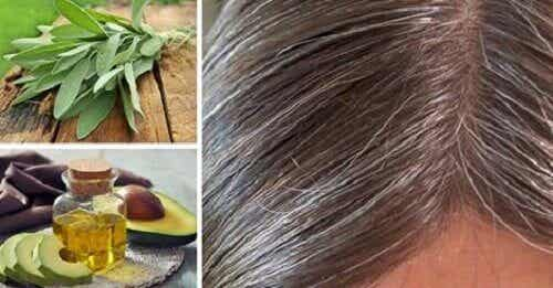 Causes and Natural Remedies for Gray Hair