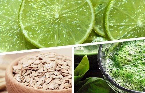 lemon oats spirulina