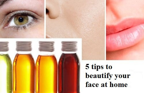 5 Tricks to Beautify Your Face at Home