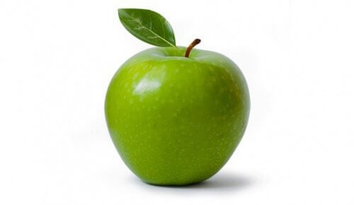 eat green apples to burn fat