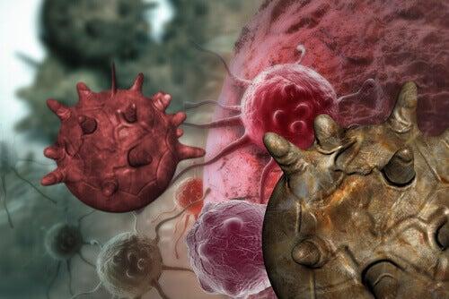 Illustration of cancer