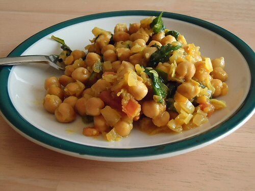 A plate of legumes