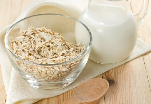 Oat water to lose weight