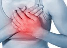 1 chest pain