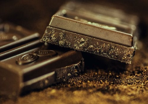 1 dark chocolate