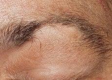 1 eyebrow