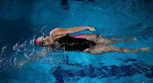 2 swimming