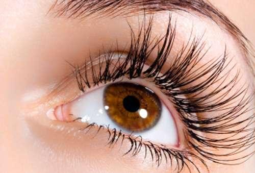 4 long lashes