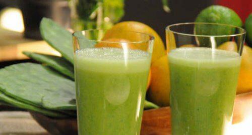 5 nopal juice