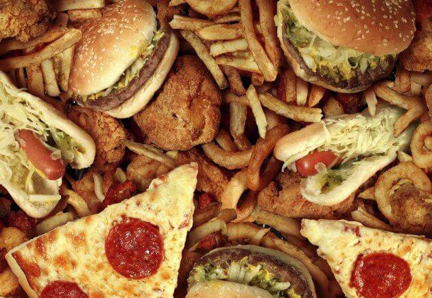 6 junk foods