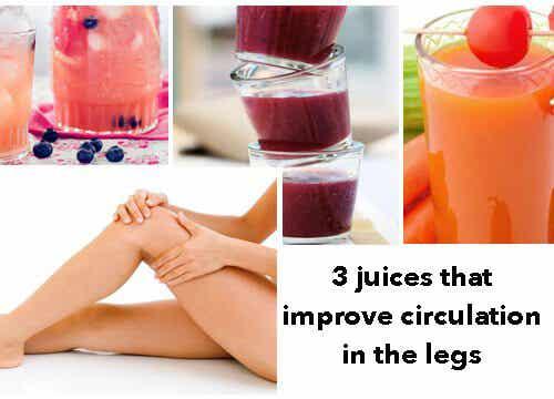 Three Juices that Promote Good Leg Circulation