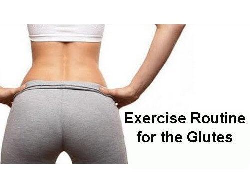 glutes routine