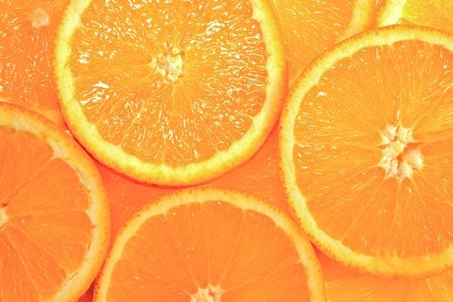 Some orange slices.