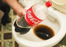 Coca Cola as a toilet cleaner