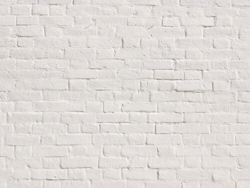 Think of a white wall to relax your mind