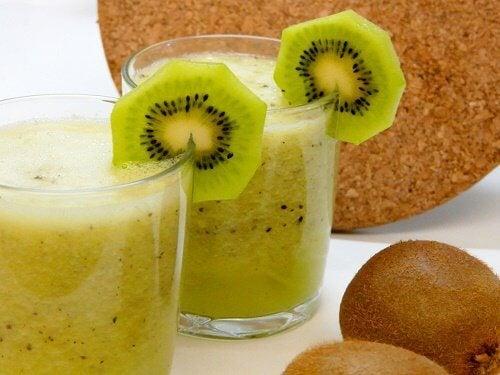 Kiwi juice.