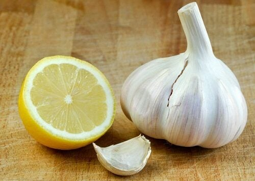 Garlic-and-lemon-cure