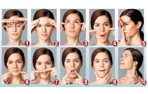 Facial Exercises to Look Younger
