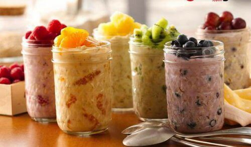 Fruit and oat recipes for cholesterol