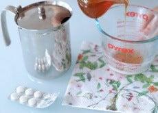 aspirin facial peel