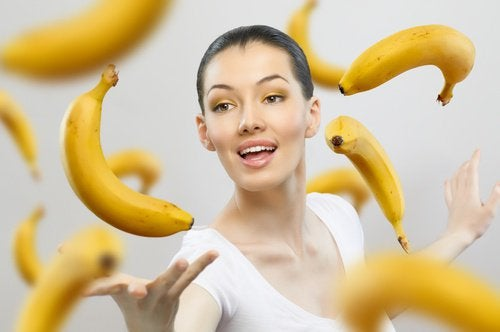 eating ripe bananas every day