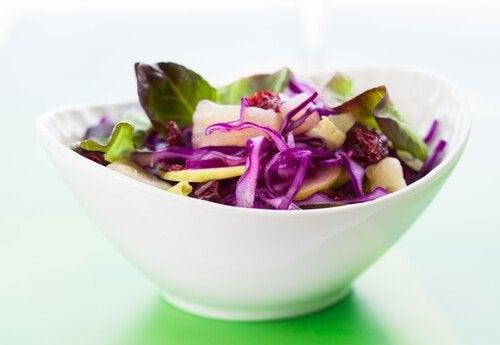 Salaattia sappirakolle
