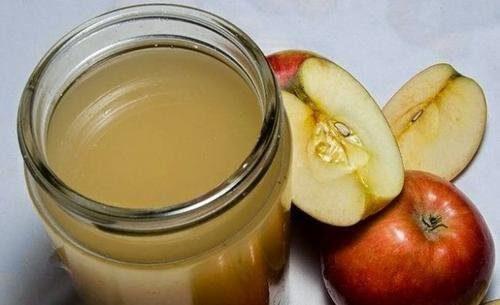 Homemade apple cider vinegar