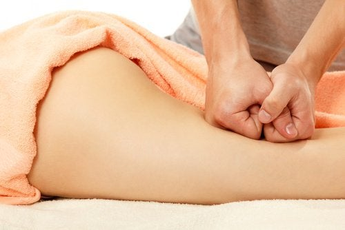 Leg massage that may help eliminate cellulite