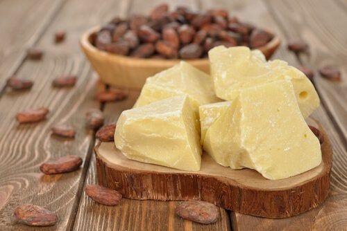 Cacao butter is great to soothe skin