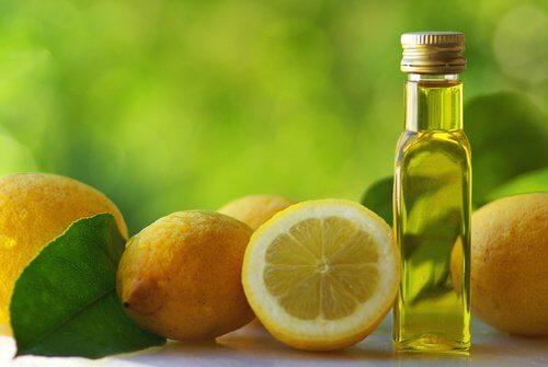Olive oil and lemon