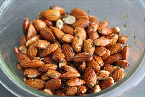 Almonds and Rosemary